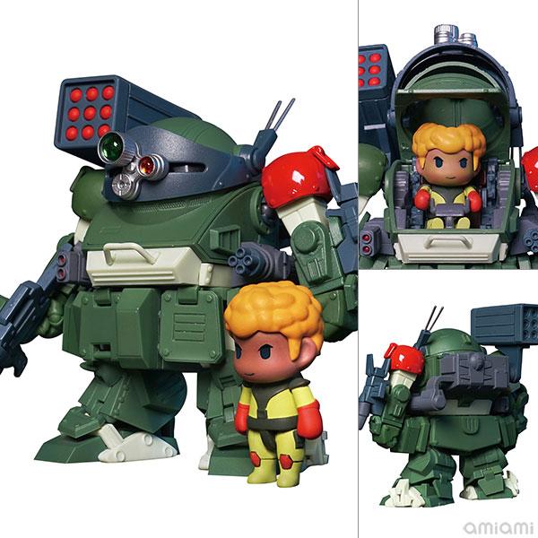 Robonimo『ATM-09-RSC スコープドッグ レッドショルダーカスタム』装甲騎兵ボトムズ デフォルメ可動フィギュア