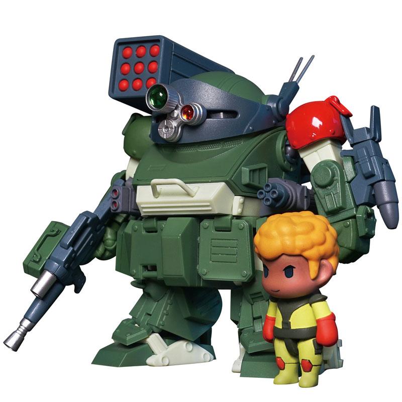 Robonimo『ATM-09-RSC スコープドッグ レッドショルダーカスタム』装甲騎兵ボトムズ デフォルメ可動フィギュア-001