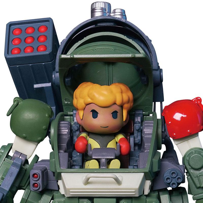 Robonimo『ATM-09-RSC スコープドッグ レッドショルダーカスタム』装甲騎兵ボトムズ デフォルメ可動フィギュア-004