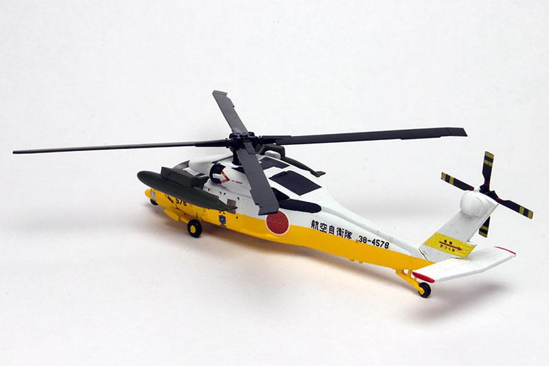 よみがえる空『航空自衛隊 UH-60J & U-125A』1/144 プラモデル-006