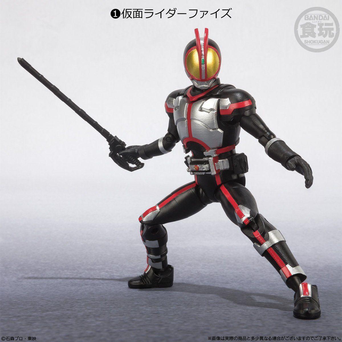 【食玩】SHODO-X『仮面ライダー2』食玩 可動フィギュア 10個入りBOX-002