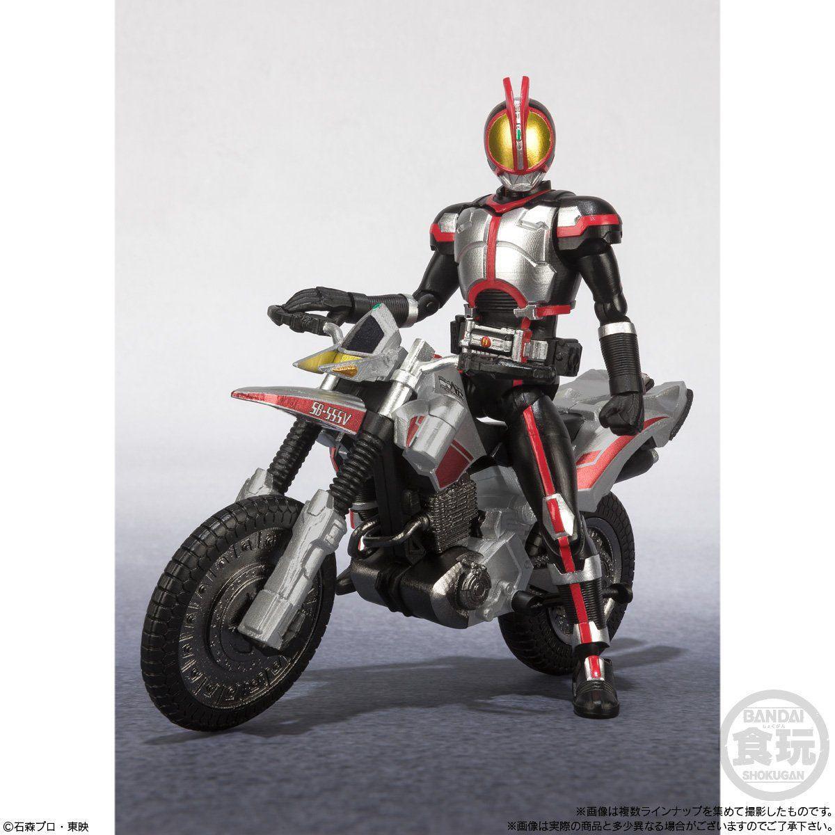 【食玩】SHODO-X『仮面ライダー2』食玩 可動フィギュア 10個入りBOX-009