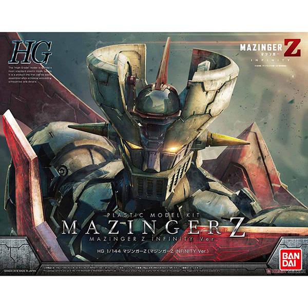 【再販】HG 1/144『マジンガーZ(マジンガーZ INFINITY Ver.)』プラモデル