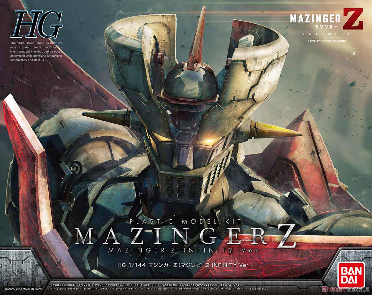 【再販】HG 1/144『マジンガーZ(マジンガーZ INFINITY Ver.)』プラモデル-001