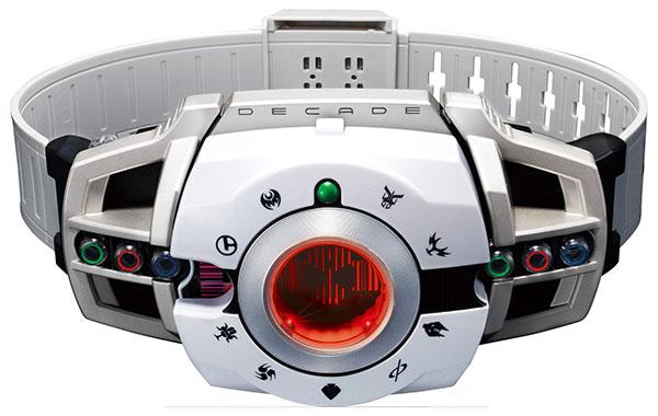 仮面ライダーディケイド『変身ベルト ver.20th DXディケイドライバー』変身なりきり-001