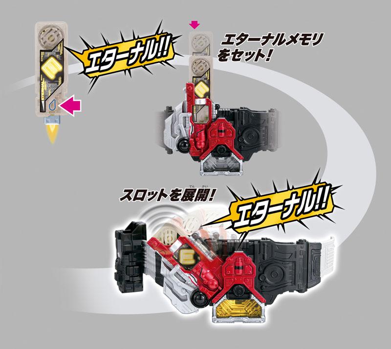 仮面ライダーW『変身ベルト ver.20th DXロストドライバー』変身なりきり-006