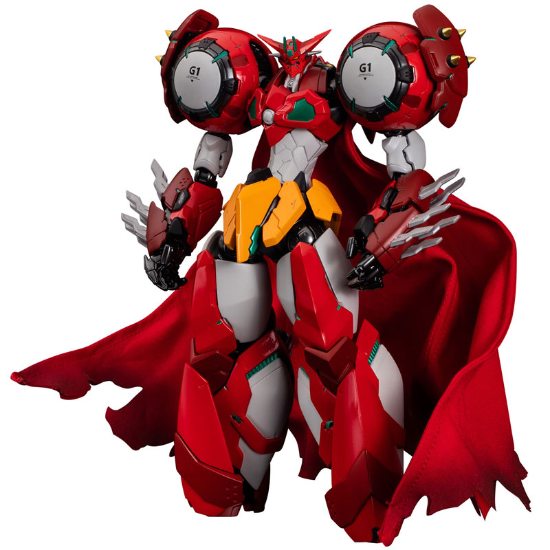 RIOBOT『ゲッター1 ゲッターロボ デヴォリューション-宇宙最後の3分間-』可動フィギュア-001