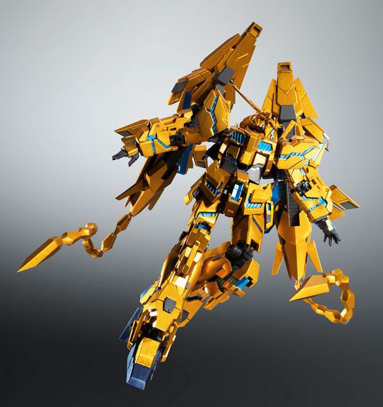 ROBOT魂〈SIDE MS〉『ユニコーンガンダム3号機 フェネクス|デストロイモード(ナラティブVer.)』可動フィギュア-002