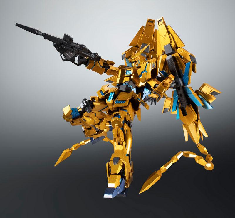 ROBOT魂〈SIDE MS〉『ユニコーンガンダム3号機 フェネクス|デストロイモード(ナラティブVer.)』可動フィギュア-003