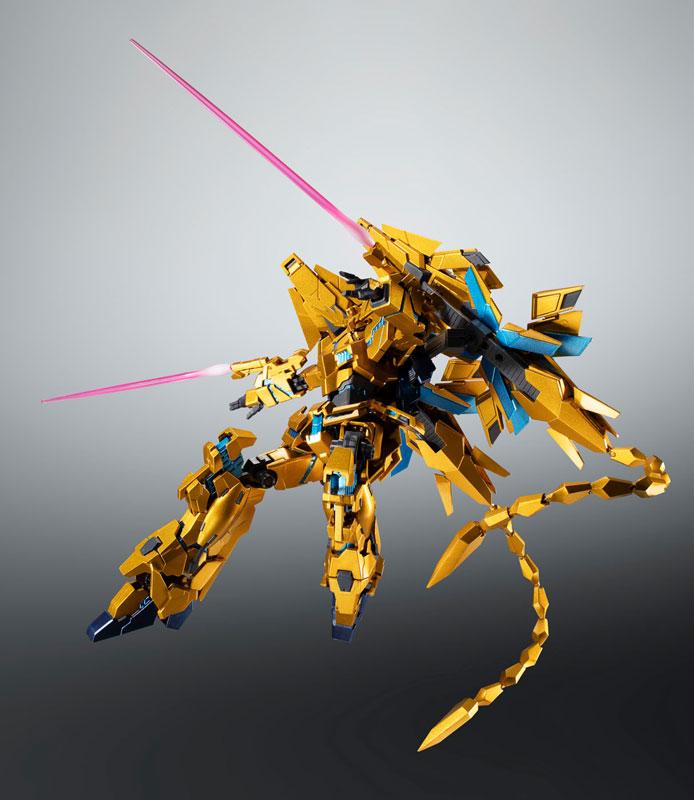 ROBOT魂〈SIDE MS〉『ユニコーンガンダム3号機 フェネクス|デストロイモード(ナラティブVer.)』可動フィギュア-004