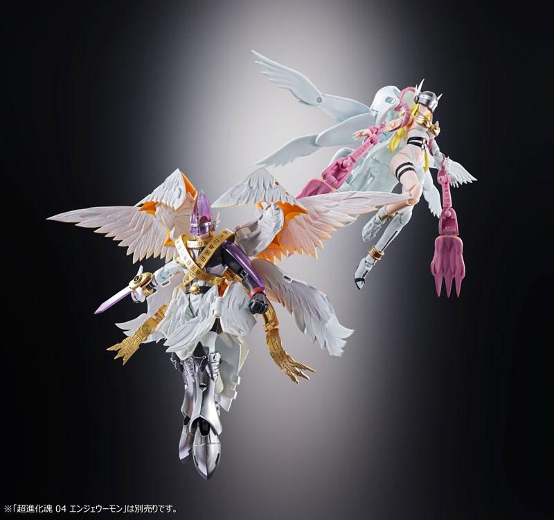 超進化魂『07 ホーリーエンジェモン|デジモンアドベンチャー』可変可動フィギュア-006