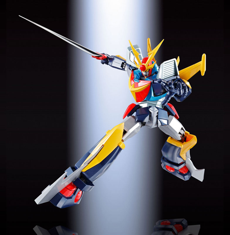 超合金魂『GX-82 無敵鋼人ダイターン3 F.A.』可動フィギュア-006