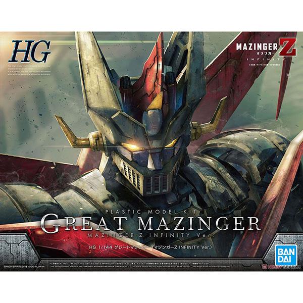 【再販】HG 1/144『グレートマジンガー(マジンガーZ INFINITY Ver.)』プラモデル
