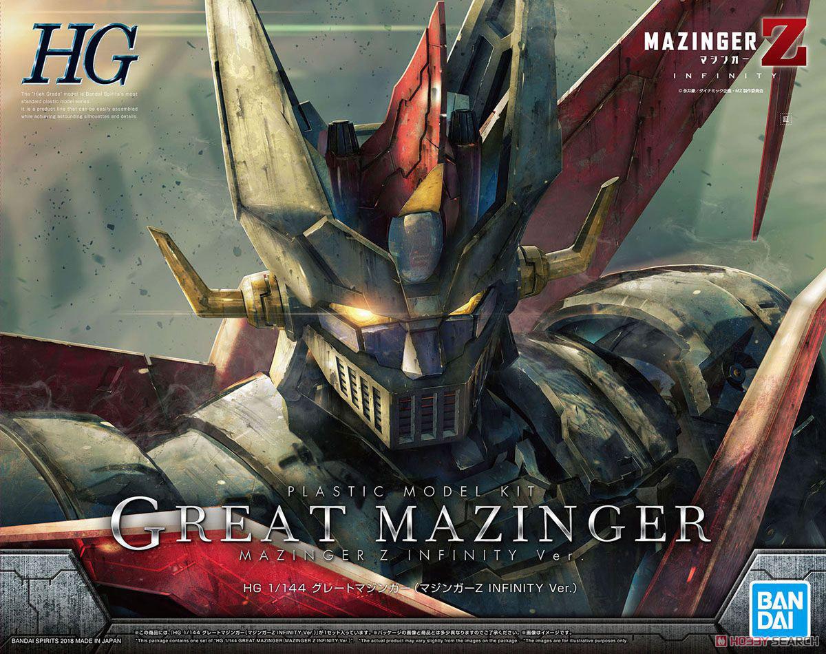 【再販】HG 1/144『グレートマジンガー(マジンガーZ INFINITY Ver.)』プラモデル-001