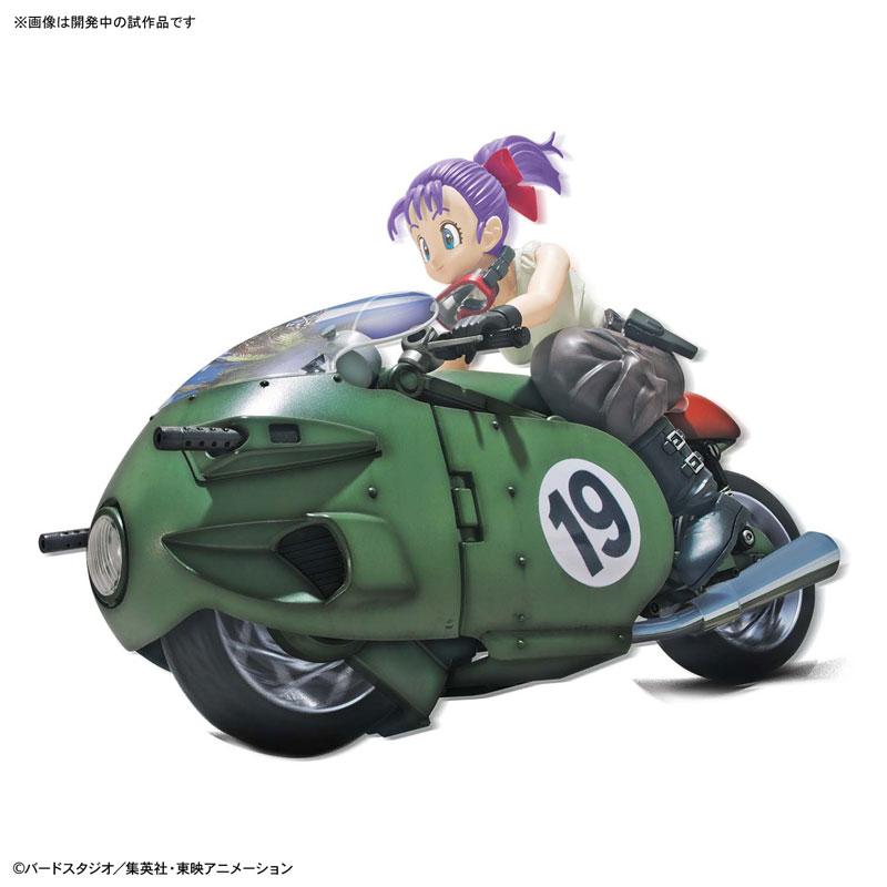 【ドラゴンボール】フィギュアライズ・メカニクス『ブルマの可変式No.19バイク』プラモデル-001
