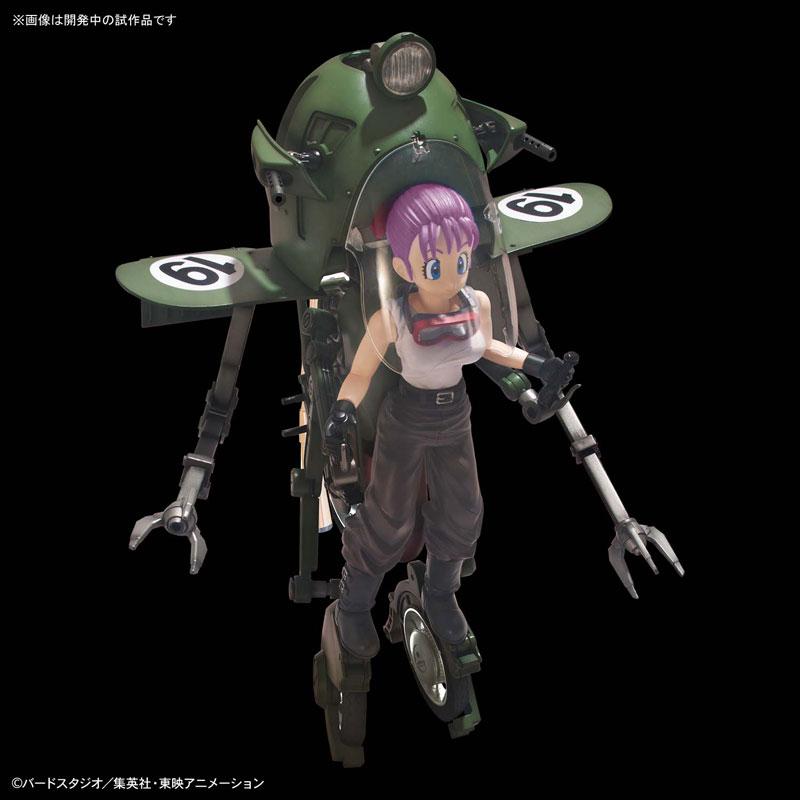 【ドラゴンボール】フィギュアライズ・メカニクス『ブルマの可変式No.19バイク』プラモデル-002