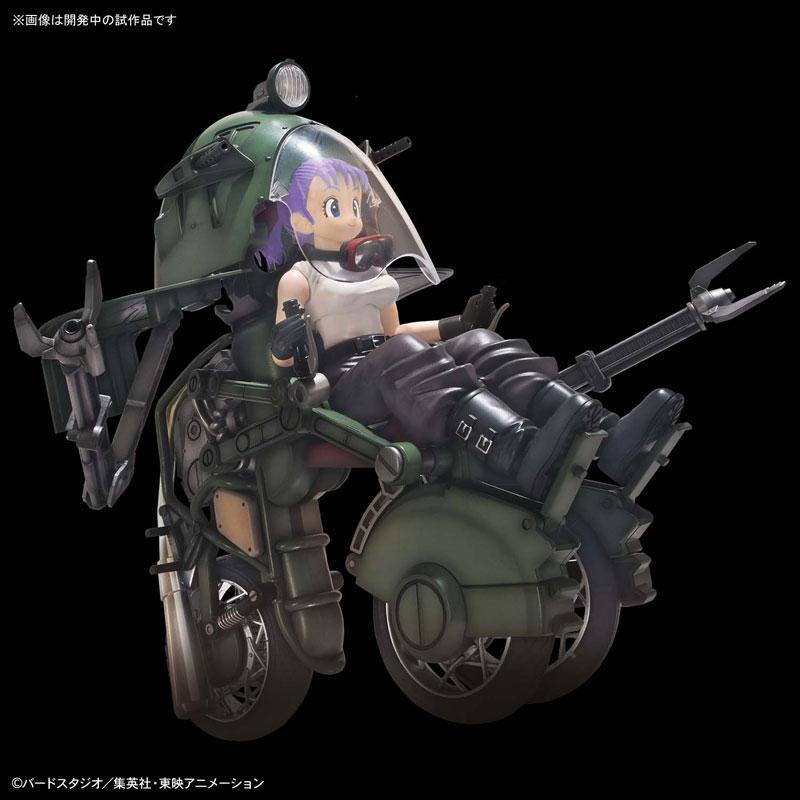【ドラゴンボール】フィギュアライズ・メカニクス『ブルマの可変式No.19バイク』プラモデル-003