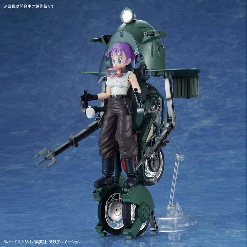 【ドラゴンボール】フィギュアライズ・メカニクス『ブルマの可変式No.19バイク』プラモデル-006