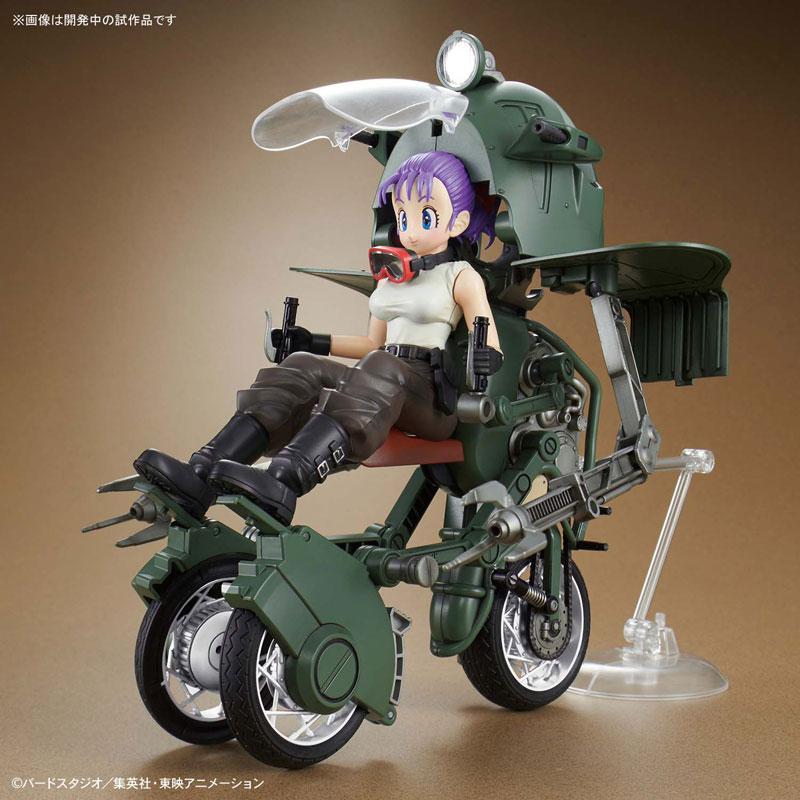 【ドラゴンボール】フィギュアライズ・メカニクス『ブルマの可変式No.19バイク』プラモデル-007