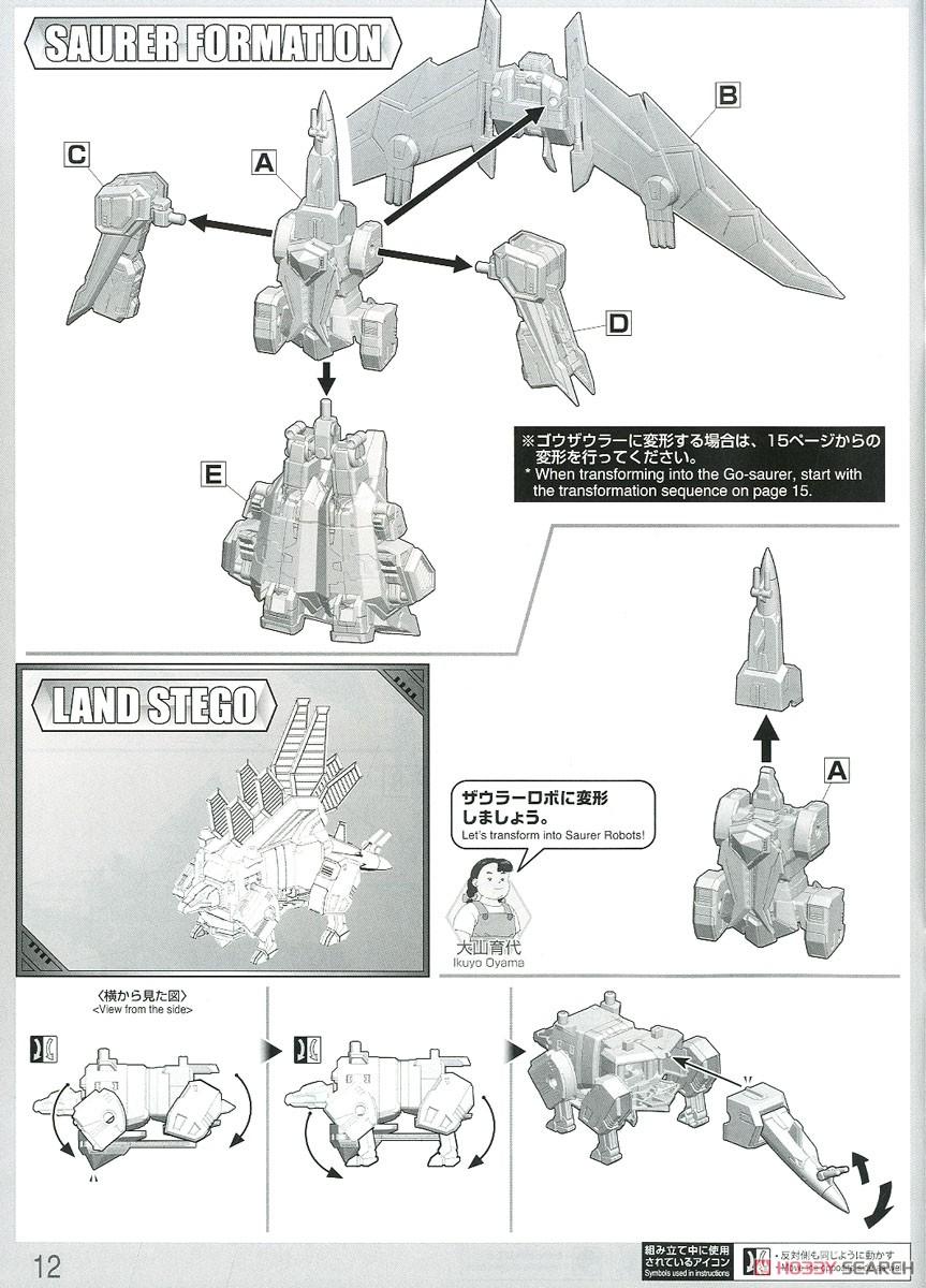 HG 1/300『ゴウザウラー|熱血最強ゴウザウラー』プラモデル-027