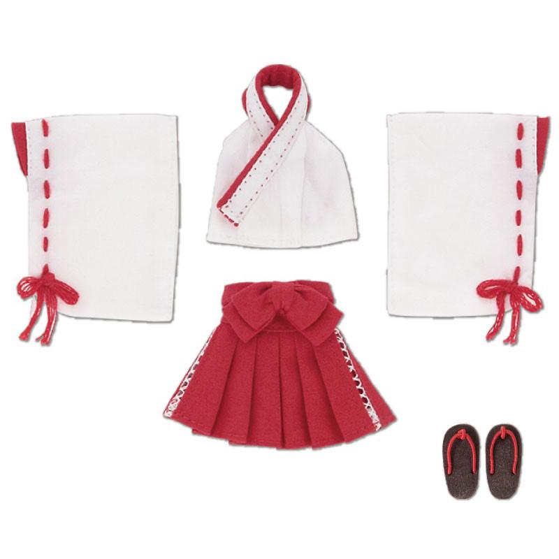 ピコニーモサイズ コスチューム『セクシー巫女セット 緋色』ドール服