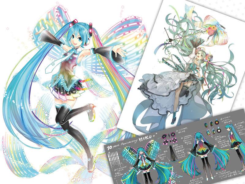 キャラクター・ボーカル・シリーズ01 初音ミク 10th Anniversary Ver. Memorial Box 1/7 完成品フィギュア-007