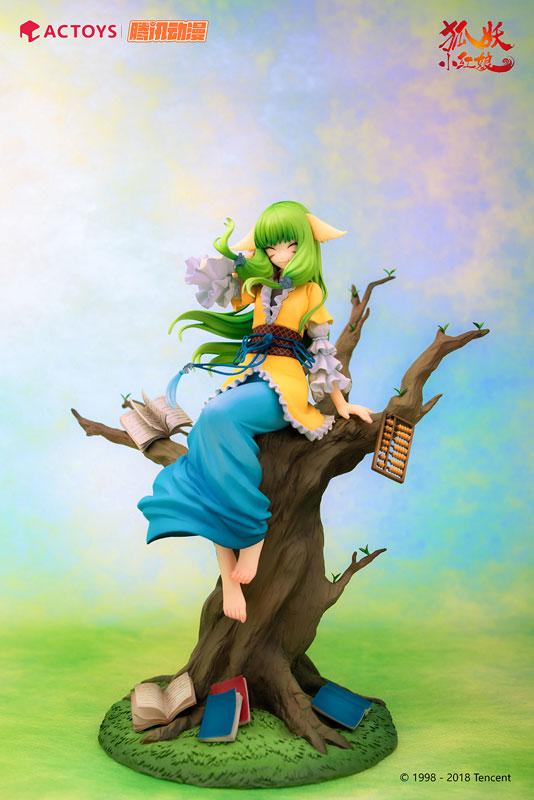 縁結びの妖狐ちゃん『塗山容容(とさんろろ)』1/8 完成品フィギュア-009