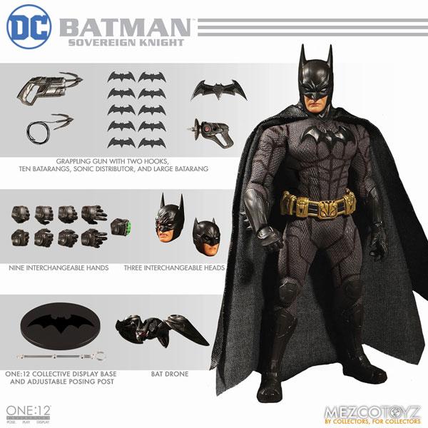 ワン12コレクティブ『DCコミックス|ソブリン・ナイト バットマン』1/12 アクションフィギュア