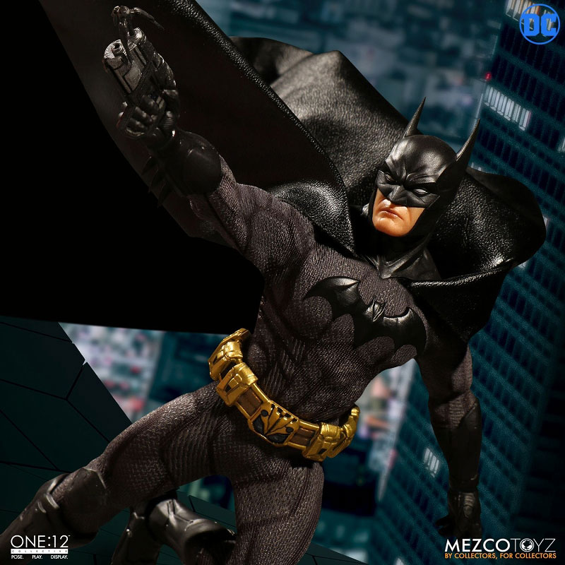 ワン12コレクティブ『DCコミックス|ソブリン・ナイト バットマン』1/12 アクションフィギュア-005