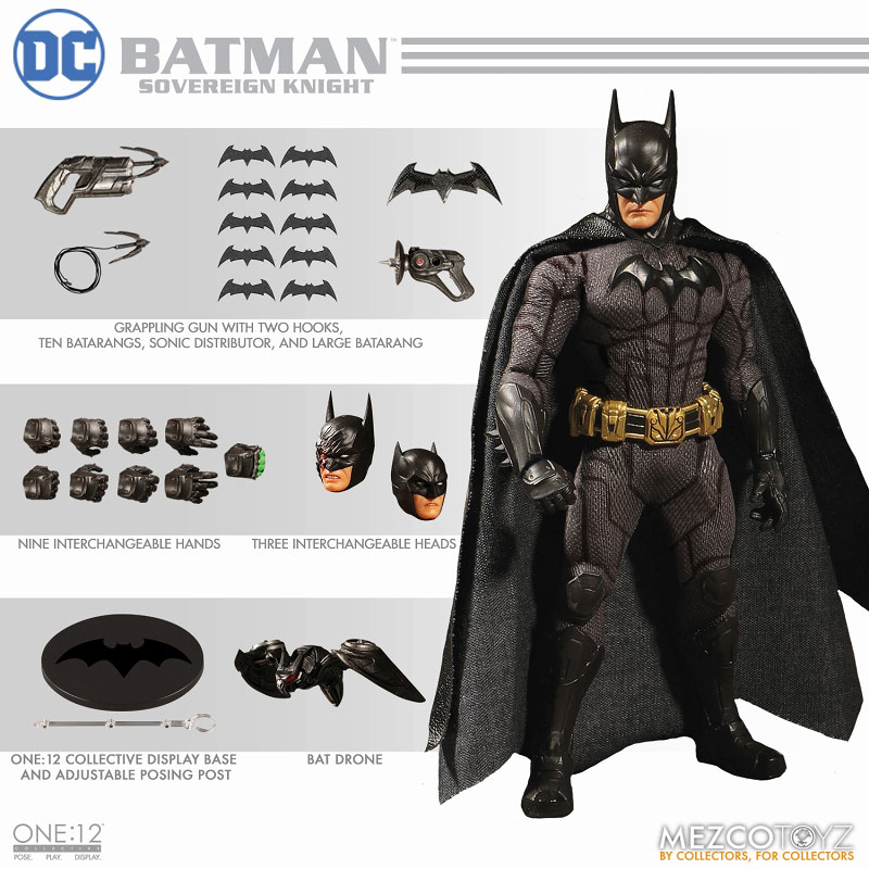 ワン12コレクティブ『DCコミックス|ソブリン・ナイト バットマン』1/12 アクションフィギュア-014