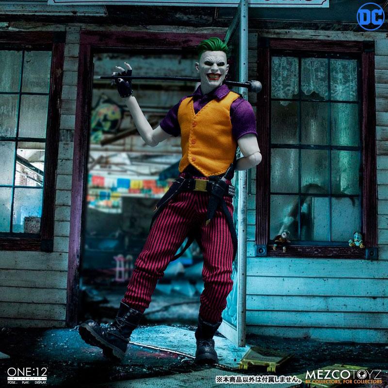ワン12コレクティブ『ジョーカー クラウンプリンス・オブ・クライム ver|DCコミックス: 』1/12 可動フィギュア-002