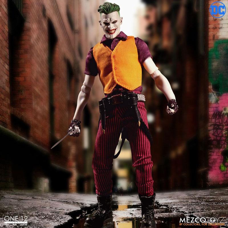 ワン12コレクティブ『ジョーカー クラウンプリンス・オブ・クライム ver|DCコミックス: 』1/12 可動フィギュア-003