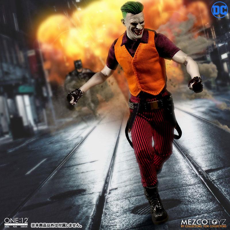 ワン12コレクティブ『ジョーカー クラウンプリンス・オブ・クライム ver|DCコミックス: 』1/12 可動フィギュア-004