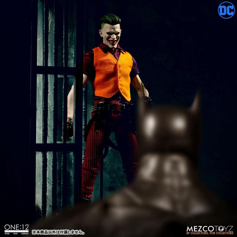 ワン12コレクティブ『ジョーカー クラウンプリンス・オブ・クライム ver|DCコミックス: 』1/12 可動フィギュア-005