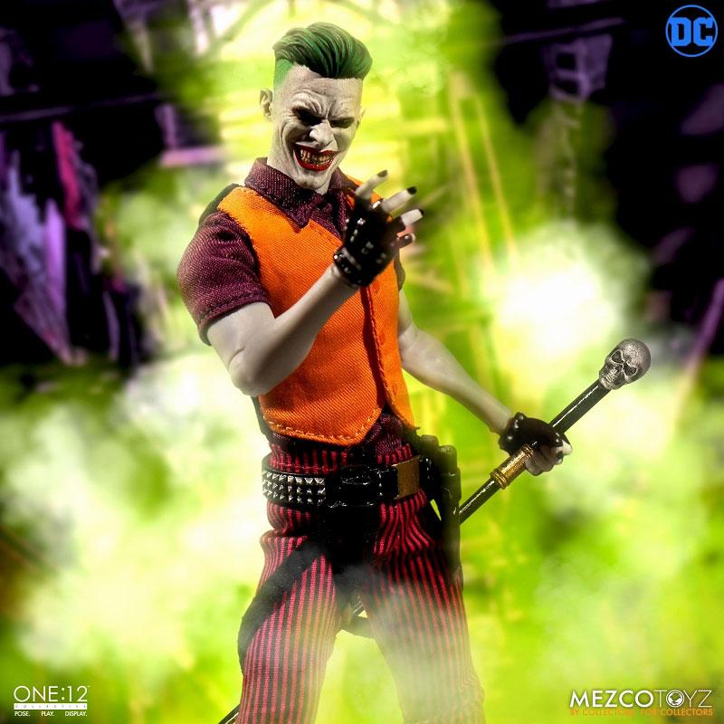 ワン12コレクティブ『ジョーカー クラウンプリンス・オブ・クライム ver|DCコミックス: 』1/12 可動フィギュア-006