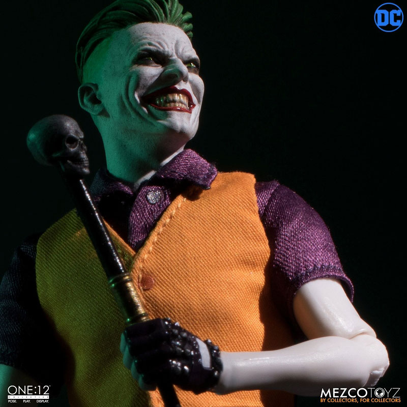 ワン12コレクティブ『ジョーカー クラウンプリンス・オブ・クライム ver|DCコミックス: 』1/12 可動フィギュア-007