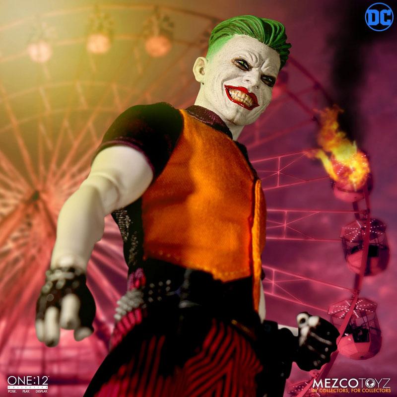 ワン12コレクティブ『ジョーカー クラウンプリンス・オブ・クライム ver|DCコミックス: 』1/12 可動フィギュア-008