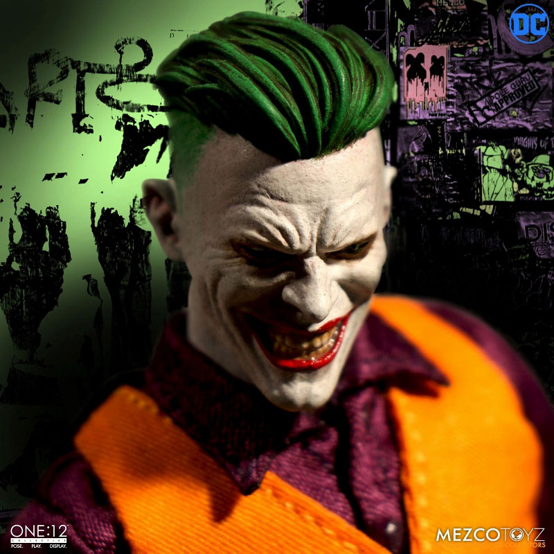 ワン12コレクティブ『ジョーカー クラウンプリンス・オブ・クライム ver|DCコミックス: 』1/12 可動フィギュア-009