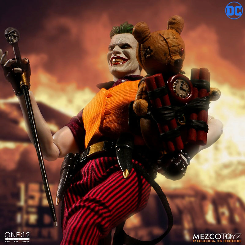 ワン12コレクティブ『ジョーカー クラウンプリンス・オブ・クライム ver|DCコミックス: 』1/12 可動フィギュア-010