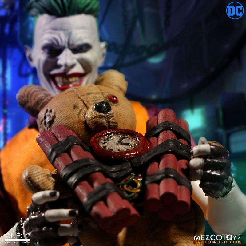 ワン12コレクティブ『ジョーカー クラウンプリンス・オブ・クライム ver|DCコミックス: 』1/12 可動フィギュア-011