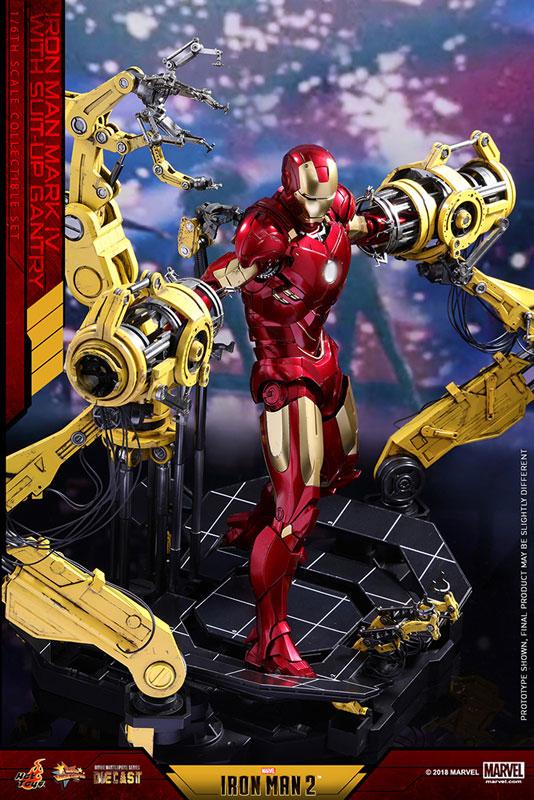 ムービー・マスターピースDIECAST 1/6 アイアンマン マーク4 パワードスーツ装着機付-006