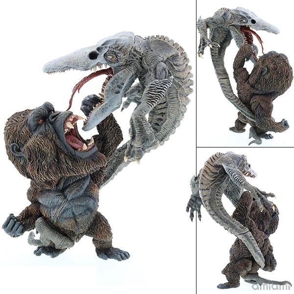 デフォリアル『コング vs. スカルクローラー|キングコング:髑髏島の巨神』完成品フィギュア