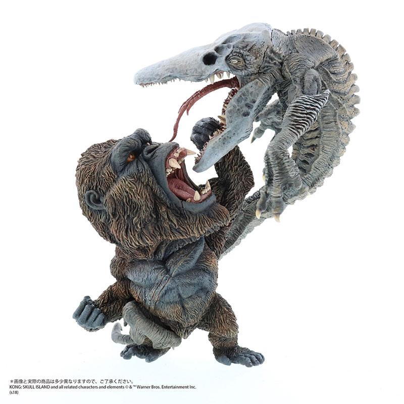 デフォリアル『コング vs. スカルクローラー|キングコング:髑髏島の巨神』完成品フィギュア-001