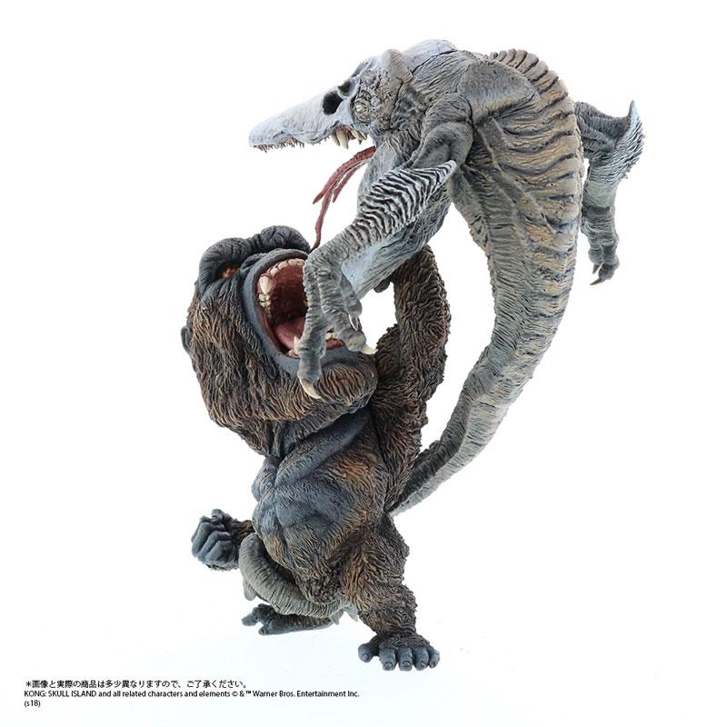 デフォリアル『コング vs. スカルクローラー|キングコング:髑髏島の巨神』完成品フィギュア-002