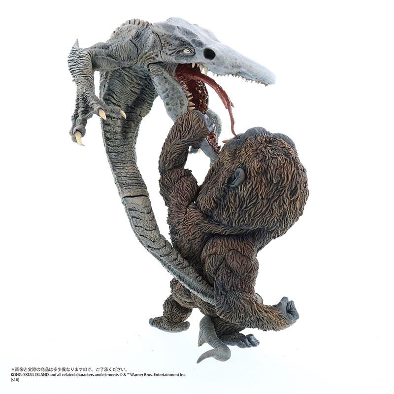 デフォリアル『コング vs. スカルクローラー|キングコング:髑髏島の巨神』完成品フィギュア-003