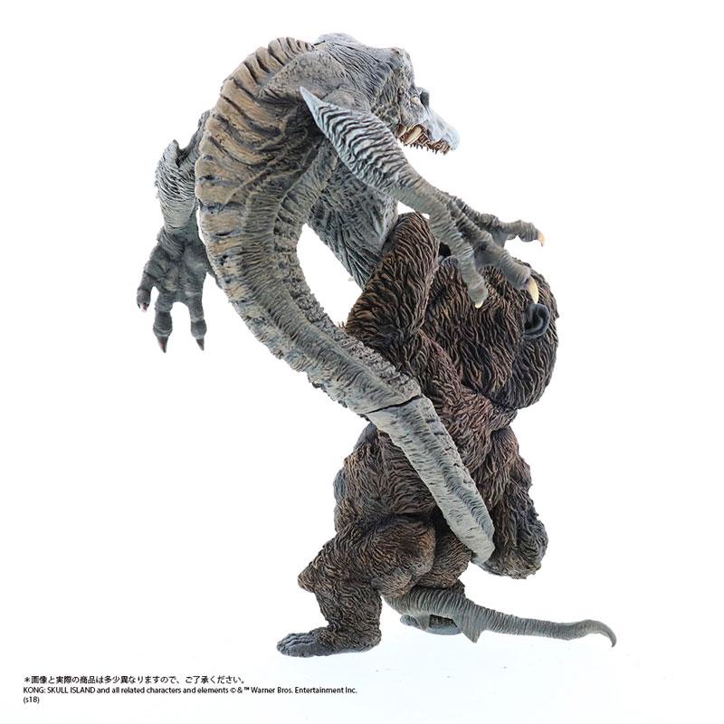 デフォリアル『コング vs. スカルクローラー|キングコング:髑髏島の巨神』完成品フィギュア-006