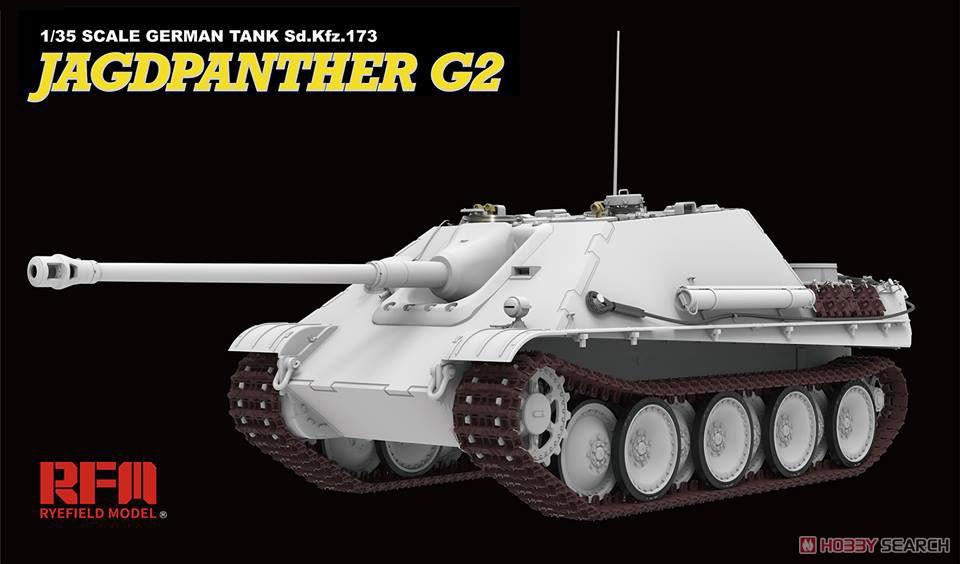 ドイツ重駆逐戦車『Sd.Kfz.173 ヤークトパンター G2型』1/35 プラモデル-003