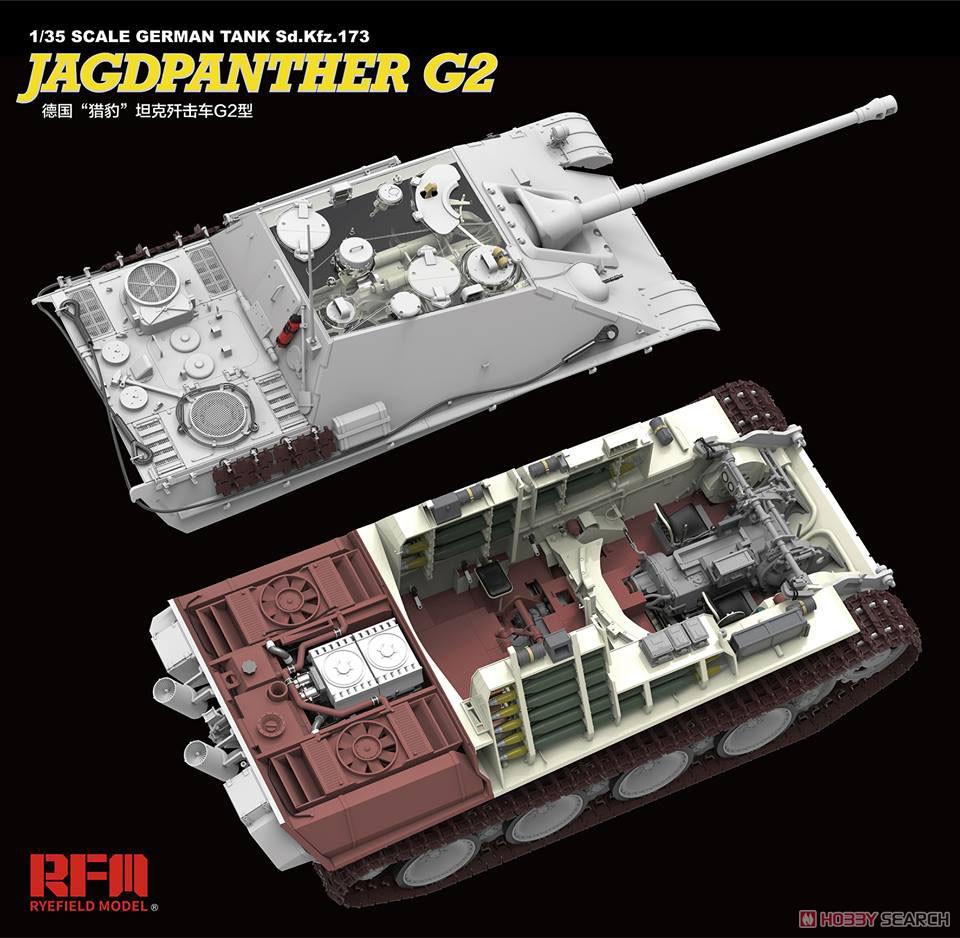 ドイツ重駆逐戦車『Sd.Kfz.173 ヤークトパンター G2型』1/35 プラモデル-004