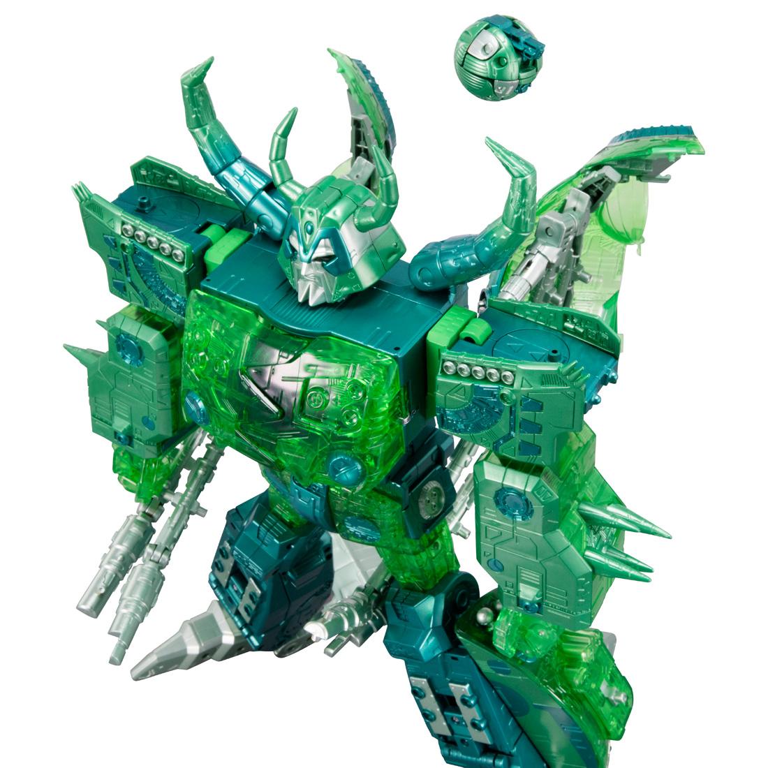 トランスフォーマー アンコール『ユニクロン(マイクロン集合体カラー)』可変可動フィギュア-008