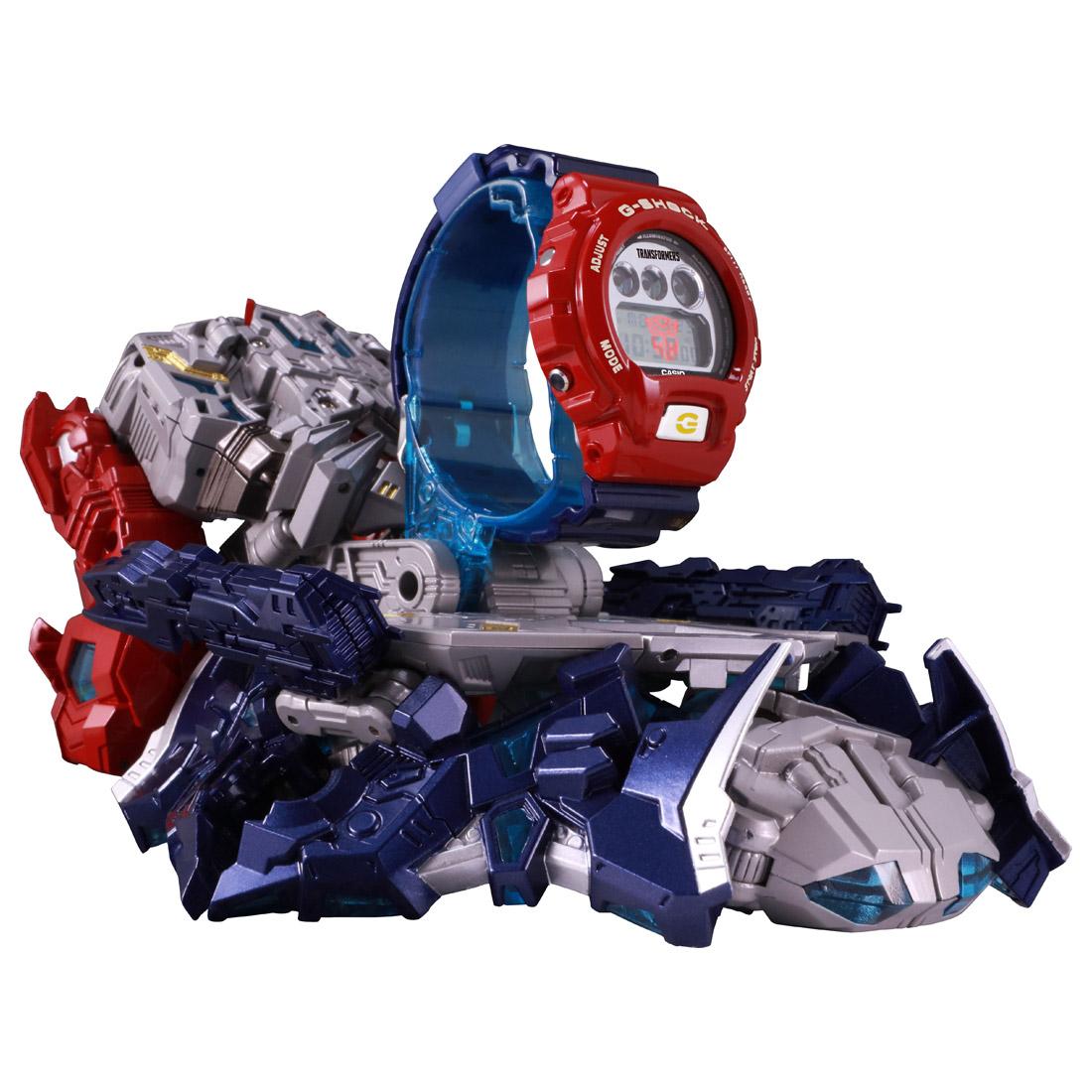 【抽選販売】トランスフォーマー 『G-SHOCK × TRANSFORMERS マスターオプティマスプライム レゾナントモード(G-SHOCKセット)』可変可動フィギュア-002